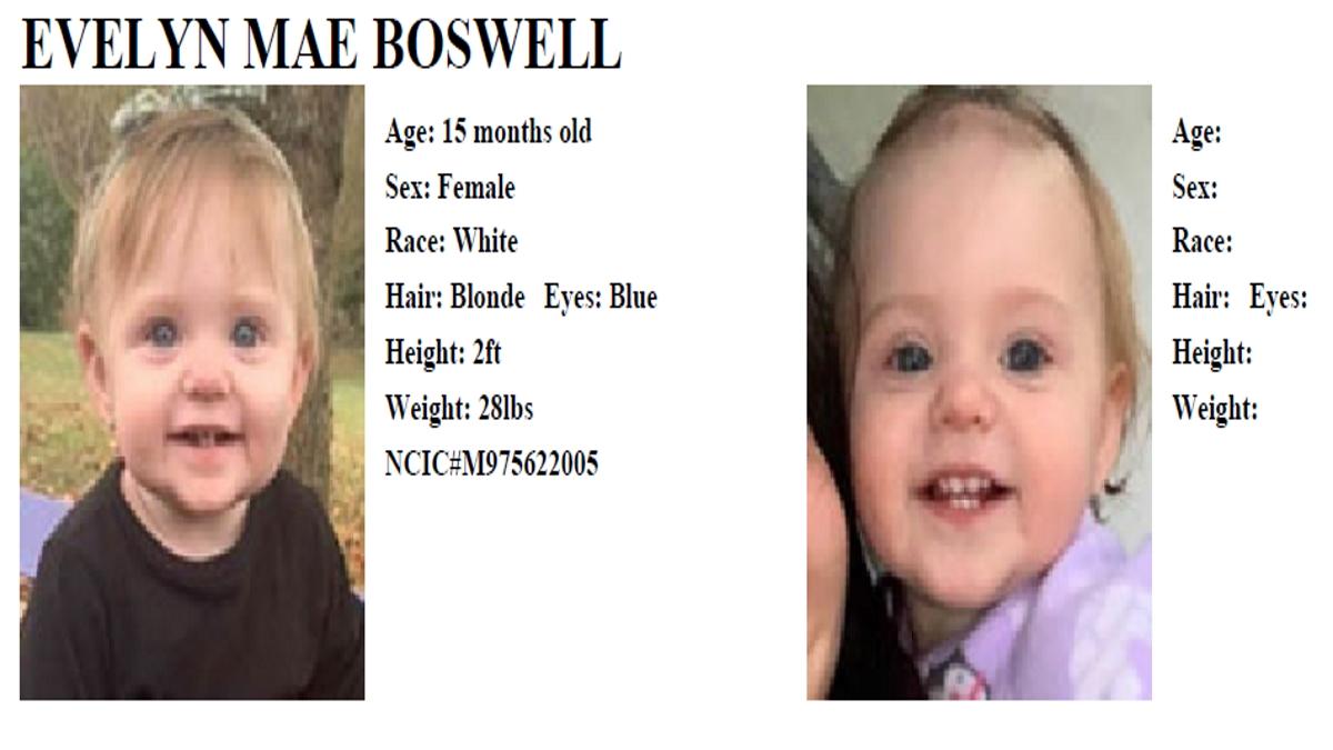 AMBER Alert issued for missing East TennesseeToddler