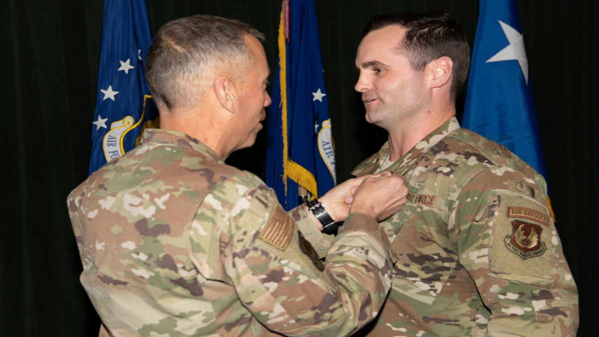 AFIMSC engineer honored with Bronze StarMedal