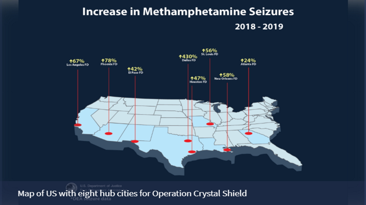 DEA announces launch of Operation CrystalShield