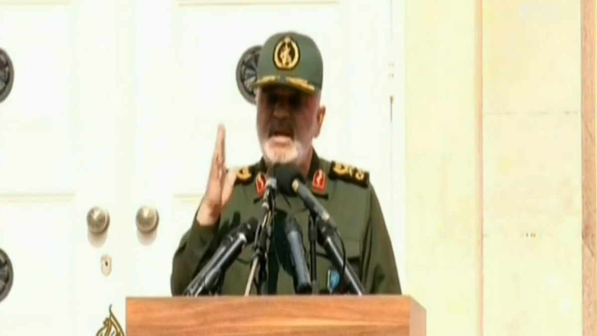 Iranian Commander Threatens Israel and theUS