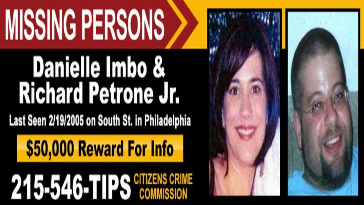 FBI Seeks Information on Disappearance, 15 Years Ago Today, of Danielle Imbo and Richard Petrone, Jr.