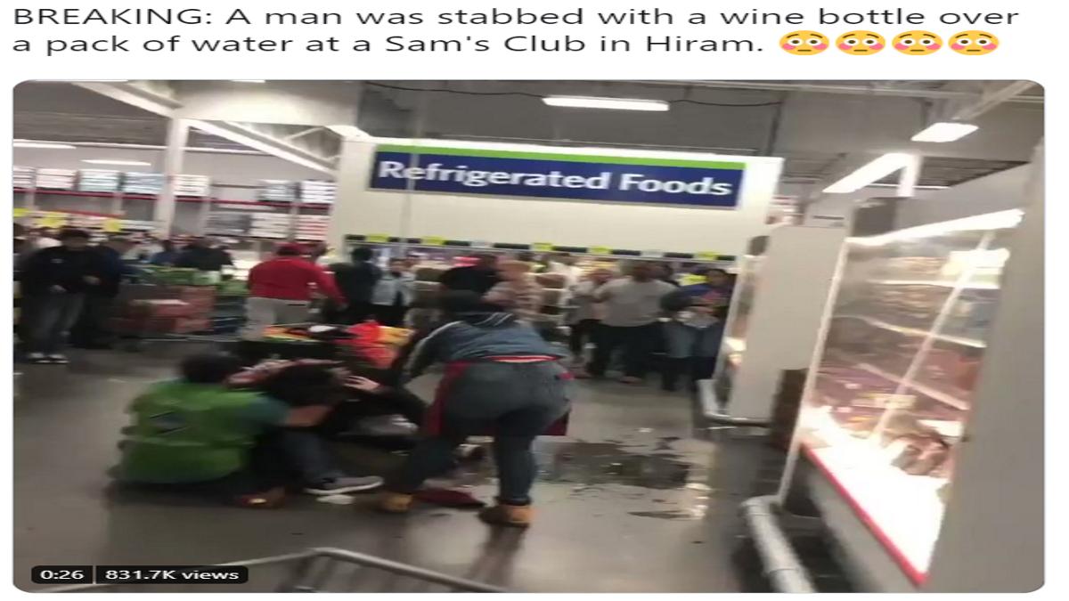 Video: Fight Incident at Sam's Club inGeorgia