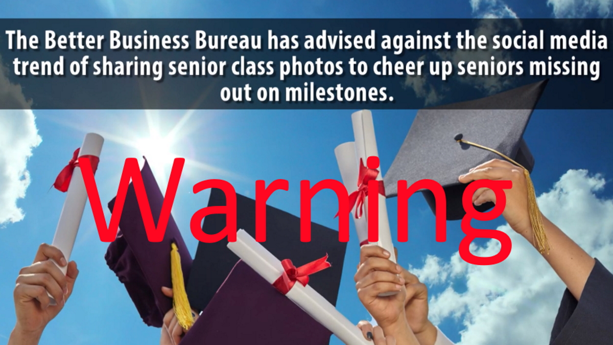 BBB Warns About Sharing Your Senior Photo on Facebook, other Social Media