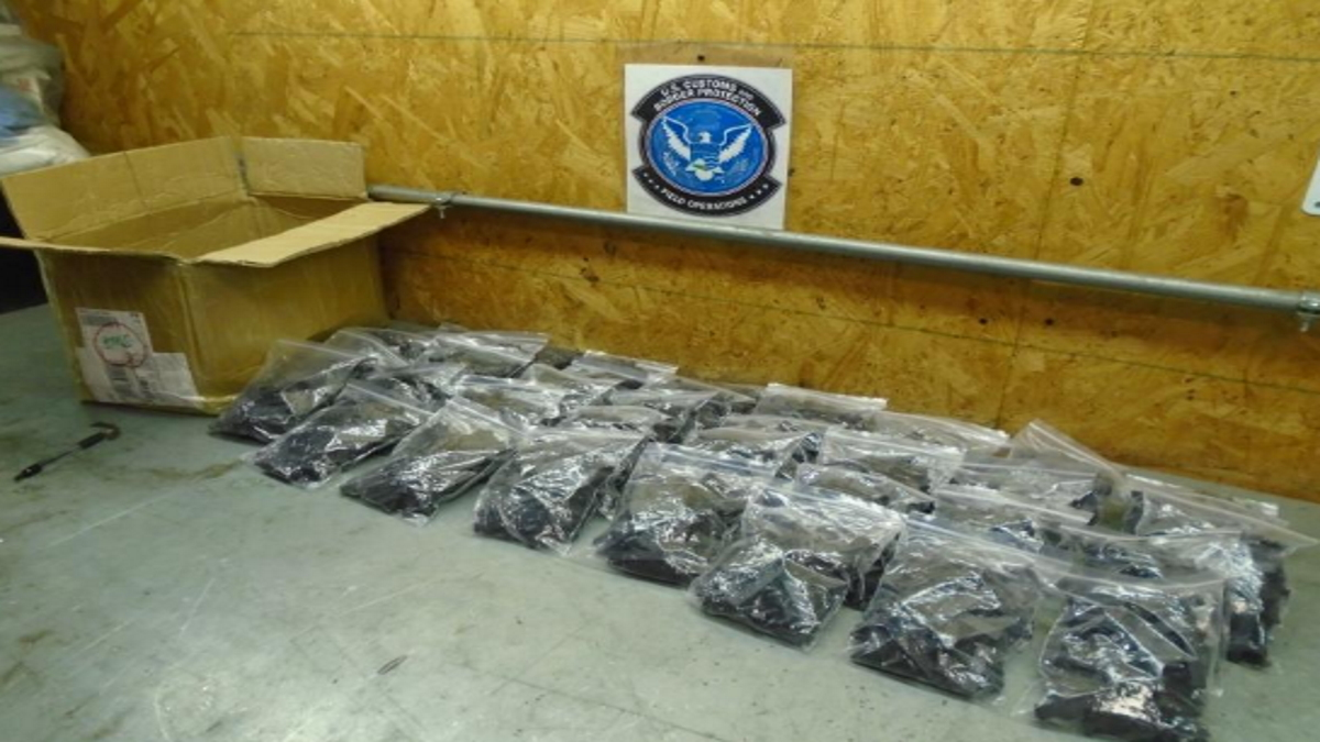 10,800 Assault Weapons Parts Seized by CBP inLouisville