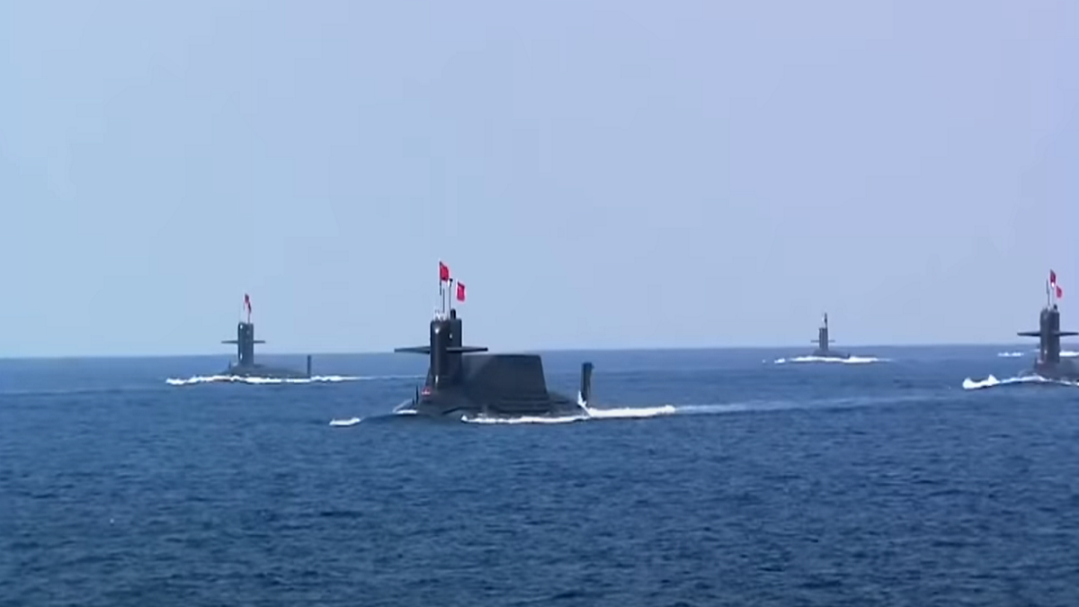 People's Republic of China Military Exercises in the South ChinaSea
