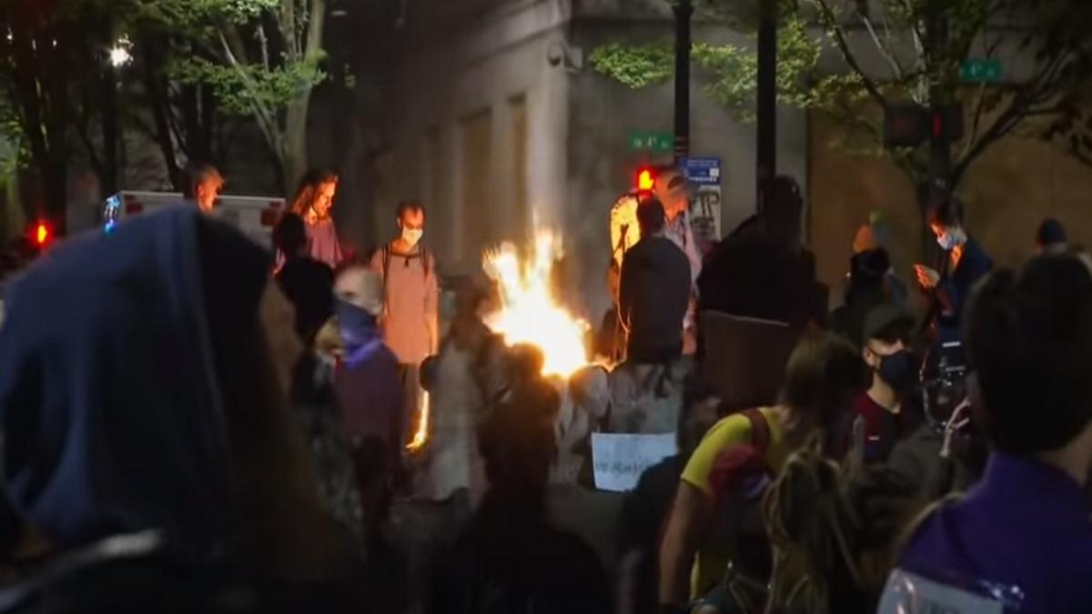 Portland Riots July 24Update
