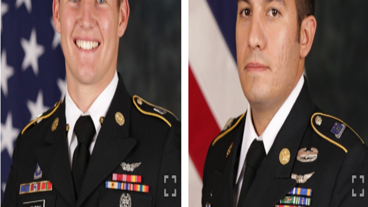Two Special Operations Soldiers Killed in Aircraft Mishap