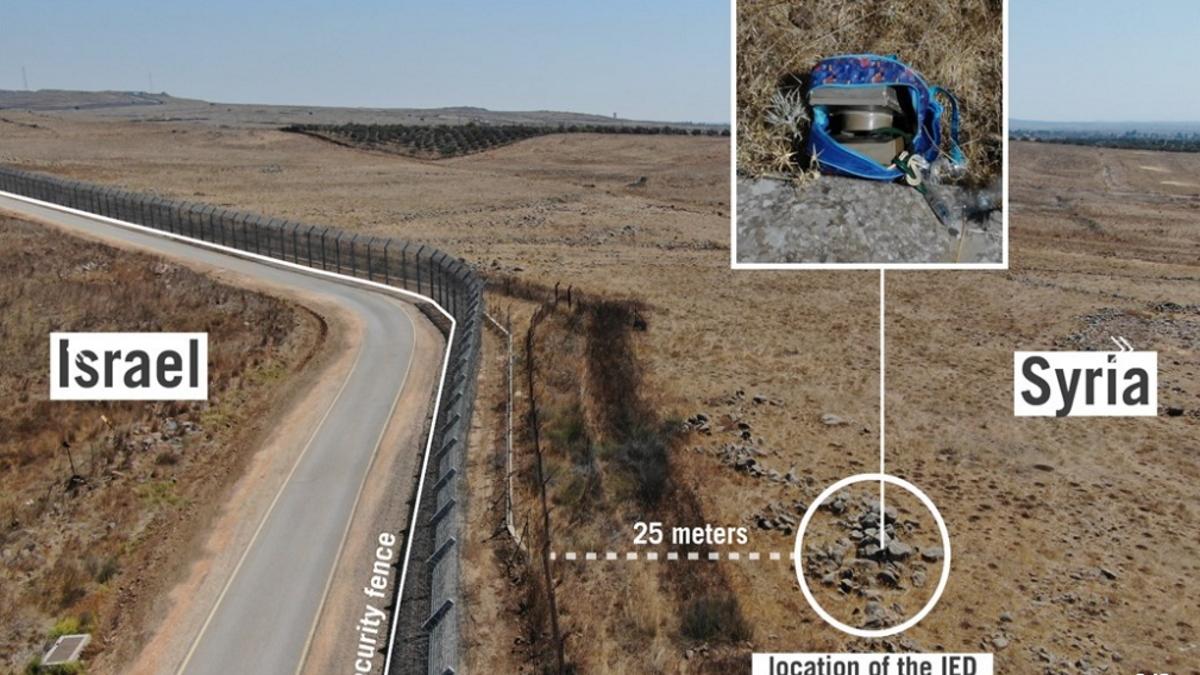 IDF Thwarts Terror Attack fromSyria