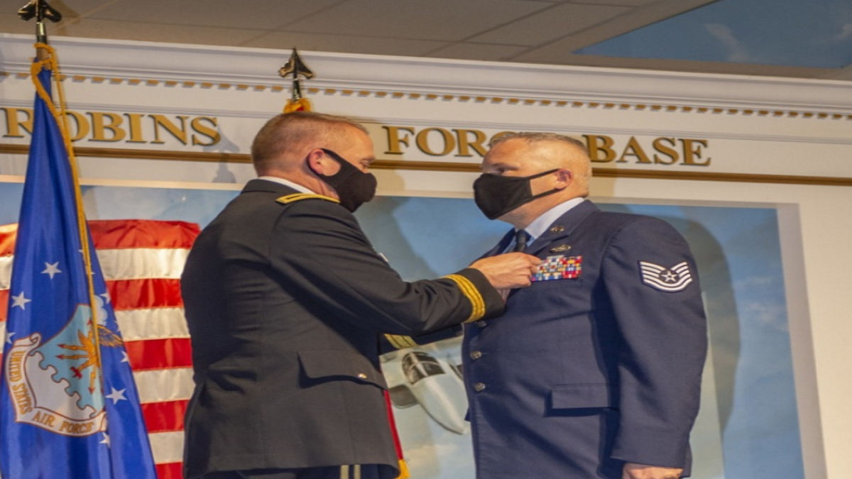 Georgia Air Guardsman earns Purple Heart for Heroic Actions in Afghanistan